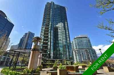 Coal Harbour Apartment for rent: Harbourside park 2 bedroom 950 sq.ft. (Listed 2019-08-15)