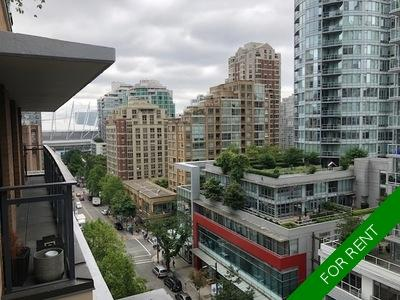 Downtown Vancouver Apartment for rent: L'Hermitage 1 bedroom 589 sq.ft. (Listed 2020-04-01)